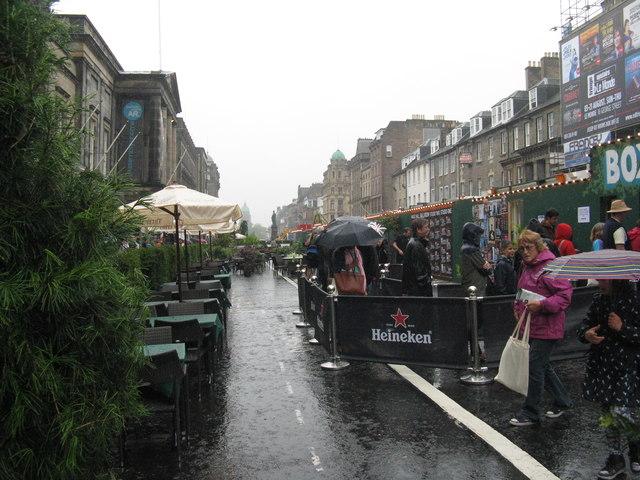Edinburgh Fringe - George Street