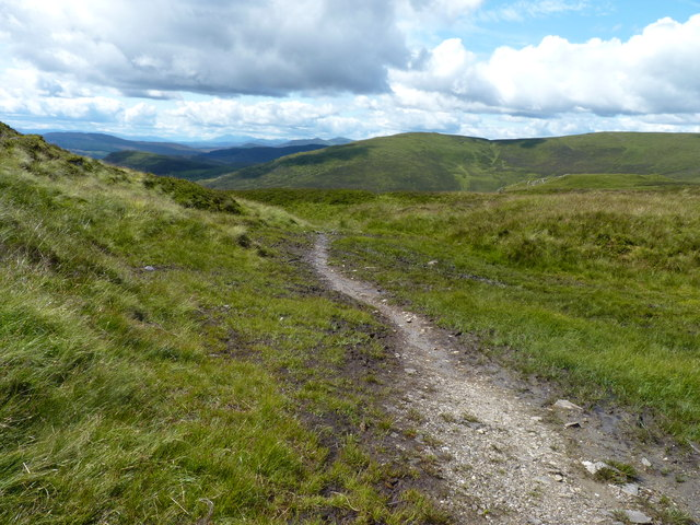 High point of the Cateran Trail
