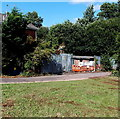 ST3090 : Electricity substation at the edge of Rowan Way, Malpas, Newport by Jaggery