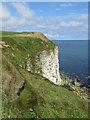 TA2272 : North Cliff, low tide by Pauline E