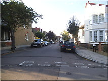 TQ2075 : Coval Road at the junction of Temple Sheen Road by David Howard