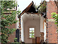 J3373 : Gt Victoria Street Baptist church, Belfast (demolition) - August 2014(2) by Albert Bridge