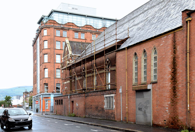 Gt Victoria Street Baptist church, Belfast (demolition) - August 2014(4)