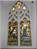 TQ2678 : Saint Mary The Boltons: stained glass window (f) by Basher Eyre
