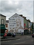 J3175 : The President Buchanan Mural on Woodvale Road by Eric Jones