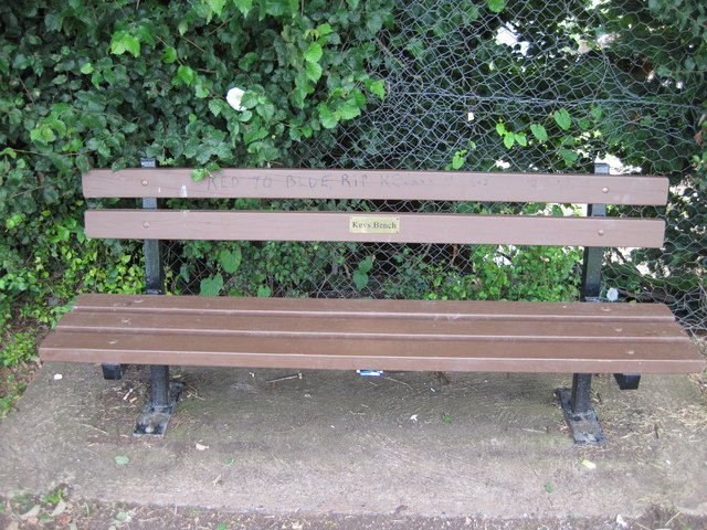 Kev's Bench, Exwick Playing Fields