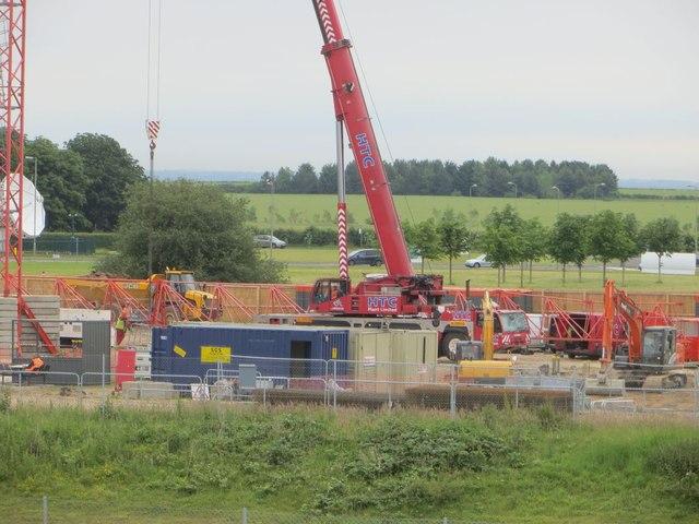 Building a tower  crane