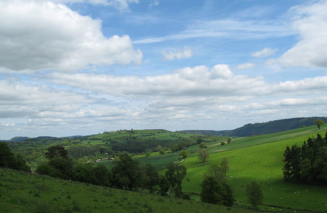 Looking towards Lingen-Herefordshire