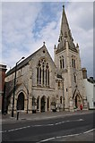 SU1429 : Church on Fisherton Street, Salisbury by Philip Halling