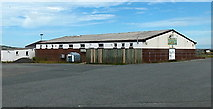 SM7525 : Rugby clubhouse, St David's by Jaggery