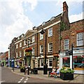 TF4609 : Rose & Crown Hotel, Wisbech by Dave Hitchborne