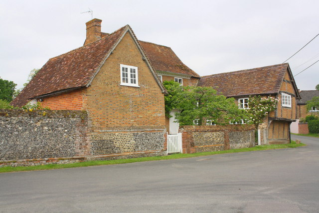 The Corner House and outbuilding