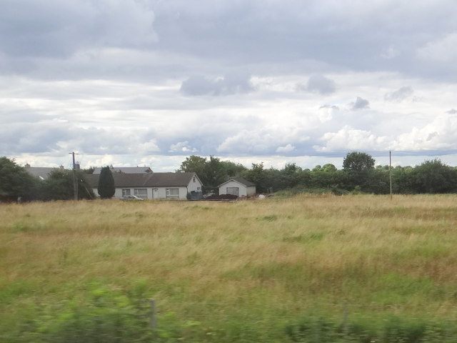 Fields at the end of Old Grange Avenue, Monasterevin