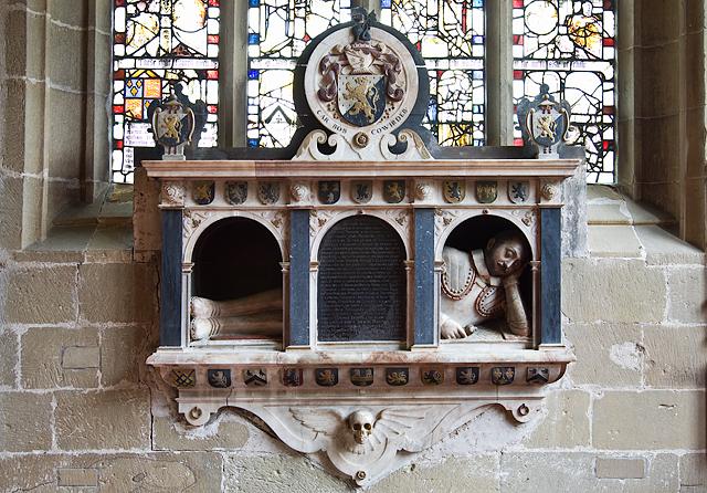 All Saints Church, Gresford - Trevor monument