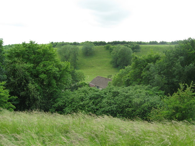 Some shelter from winter blasts-Newington Bagpath, Glos