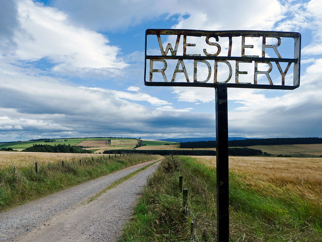 Access to Wester Raddery Farm
