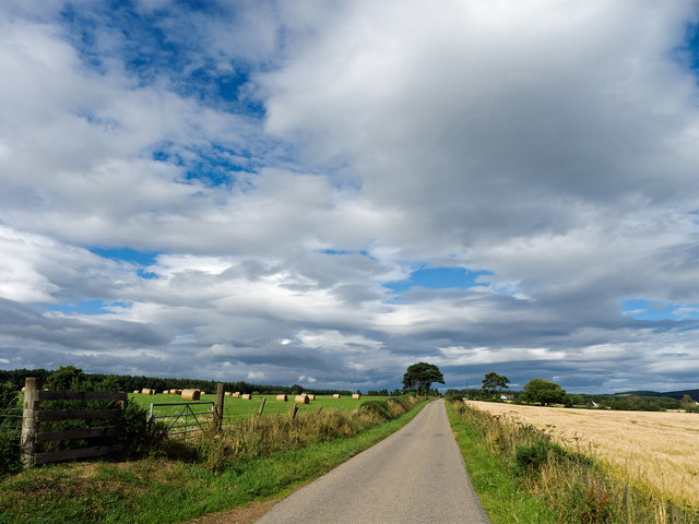 Cycling country - on National Cycle Route 1