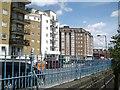 TQ2782 : Apartment blocks, Rossmore Road by Robin Stott