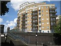 TQ2782 : Palgrave Gardens apartments seen from Boston Place by Robin Stott