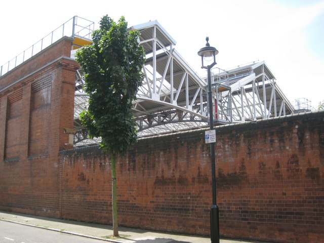 North end of train shed, Marylebone station
