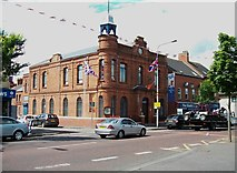 J3274 : The West Belfast (Shankill Road) Orange Hall by Eric Jones