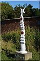 SE6150 : National Cycle Route Marker by Ian S