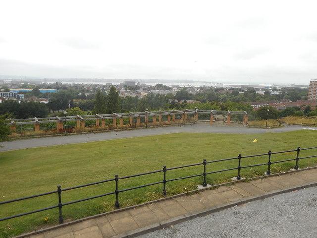 Everton Park - View across the Terraces