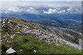 NN1666 : North ridge of Sgùrr a' Mhàim by Doug Lee
