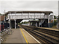 TQ3866 : West Wickham railway station footbridge by Stephen Craven