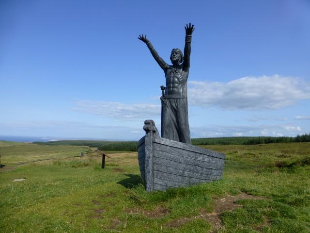 Manannán mac Lir sculpture, Gortmore