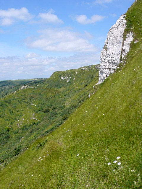 White Nothe Cliff