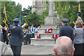 SP9211 : Laying the Wreaths on the War Memorial by Chris Reynolds