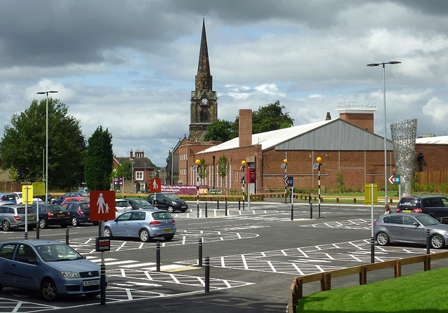 New Sainsbury S Car Park Wolverhampton 169 Roger Kidd