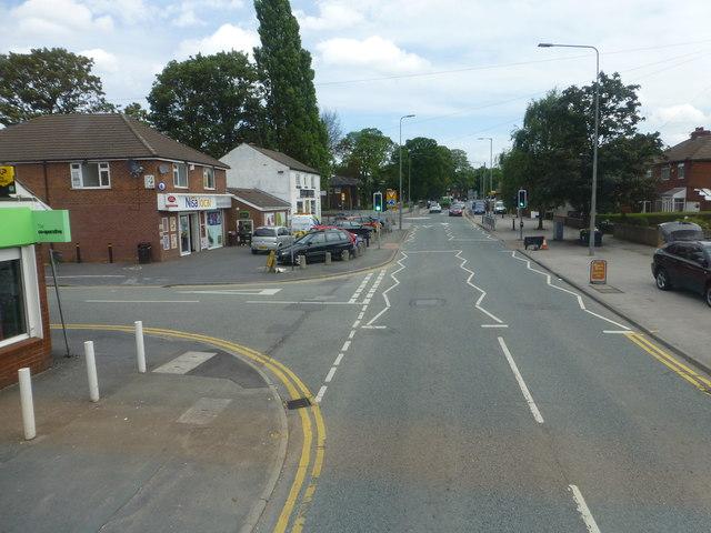 Manchester Road at Blackmoor