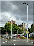 SO9098 : Raglan Street and Ring Road, Wolverhampton by Roger  Kidd