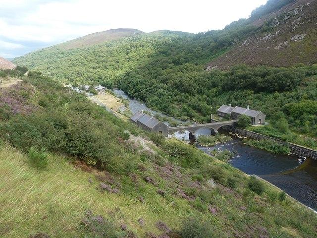 Afon Elan and bridge
