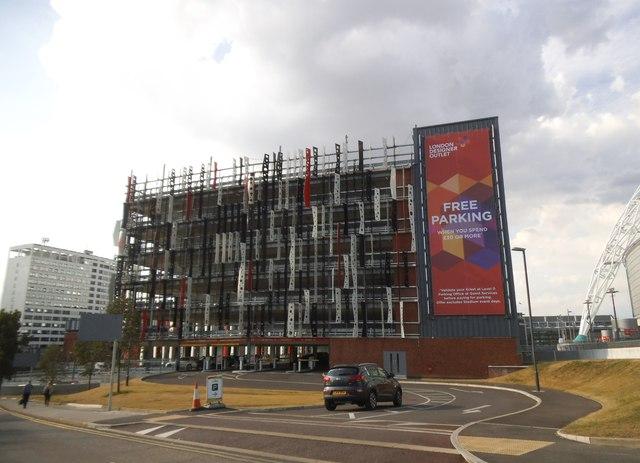 New car park by Wembley Stadium