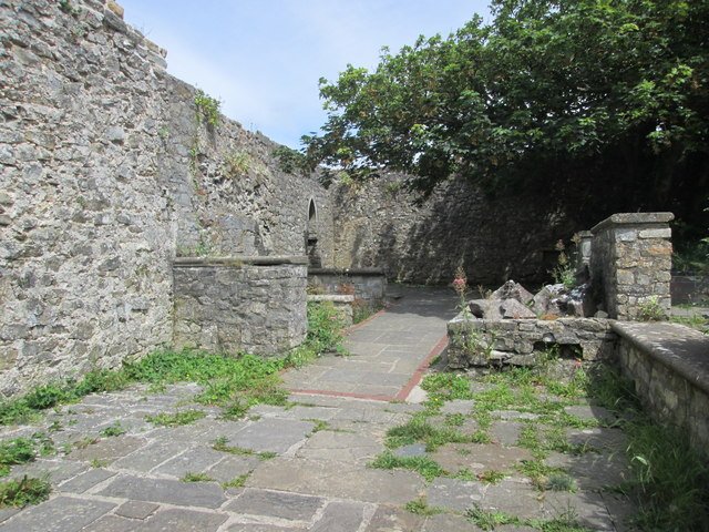Dunraven ruins