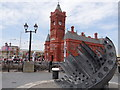 ST1974 : The Pierhead and Merchant Seafarers War Memorial by Debbie J