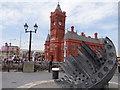 ST1974 : The Pierhead and Merchant Seafarers War Memorial by Debbie J