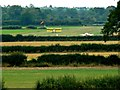ST9992 : Oaksey Park Airfield, Oaksey, Wiltshire by Brian Robert Marshall
