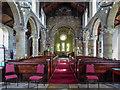 SE7871 : Aisle, St Michael's Church, Market Place, Malton, Yorkshire by Christine Matthews