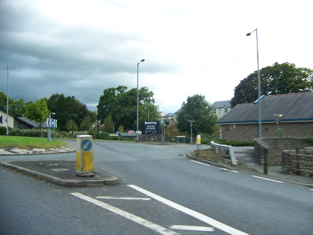 Roundabout at Booths, Kirkby Lonsdale