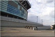 TQ1985 : Wembley Stadium by South Way by David Howard