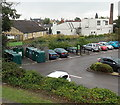 SP2032 : Recycling area in Budgens car park, Moreton-in-Marsh by Jaggery