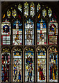 SP1501 : Stained glass window, n.X, St Mary's church, Fairford by Julian P Guffogg