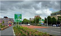 SO9098 : Ring Road St Mark's, Wolverhampton by Roger  Kidd