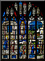SP1501 : Stained glass window, s.III, St Mary's church, Fairford by Julian P Guffogg