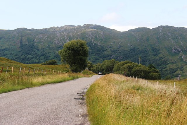 A861 near Moidart