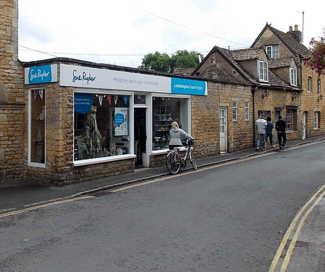 Sue Ryder Leckhampton Court Hospice charity shop, Bourton-on-the-Water